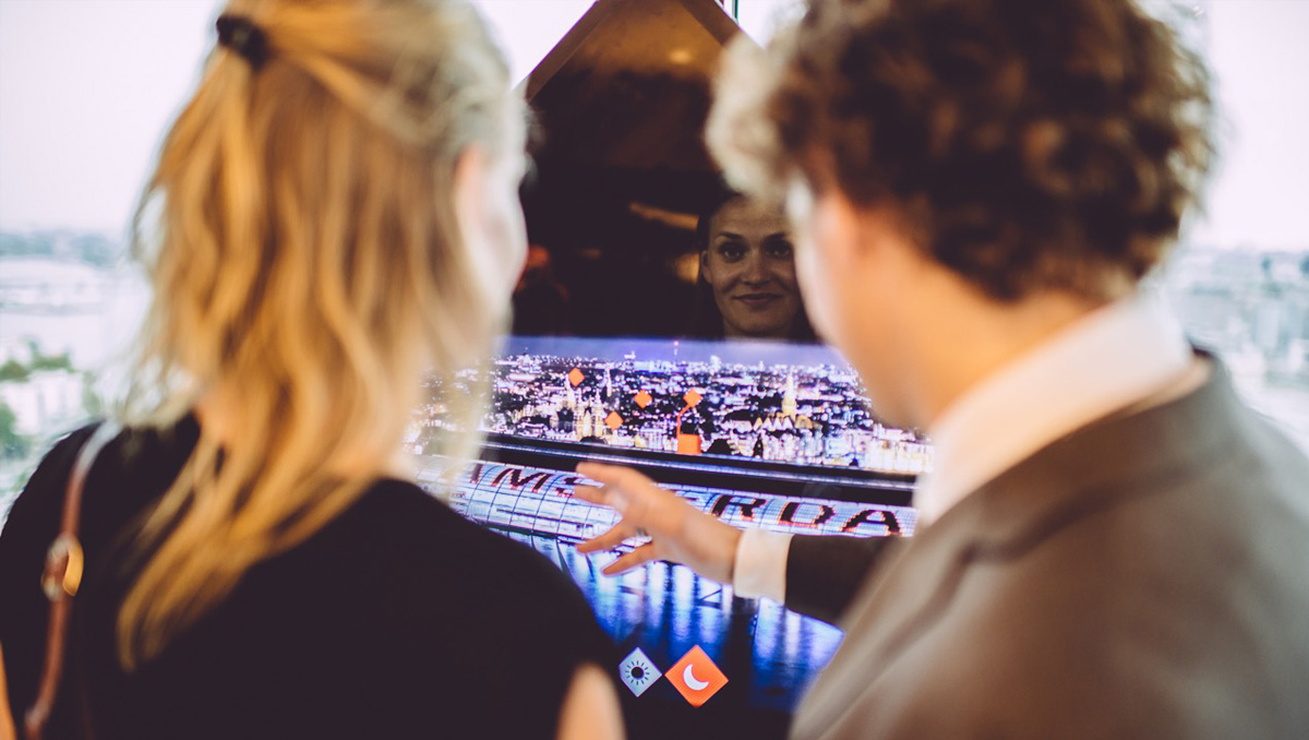A'DAM Lookout interactive Amsterdam exhibition