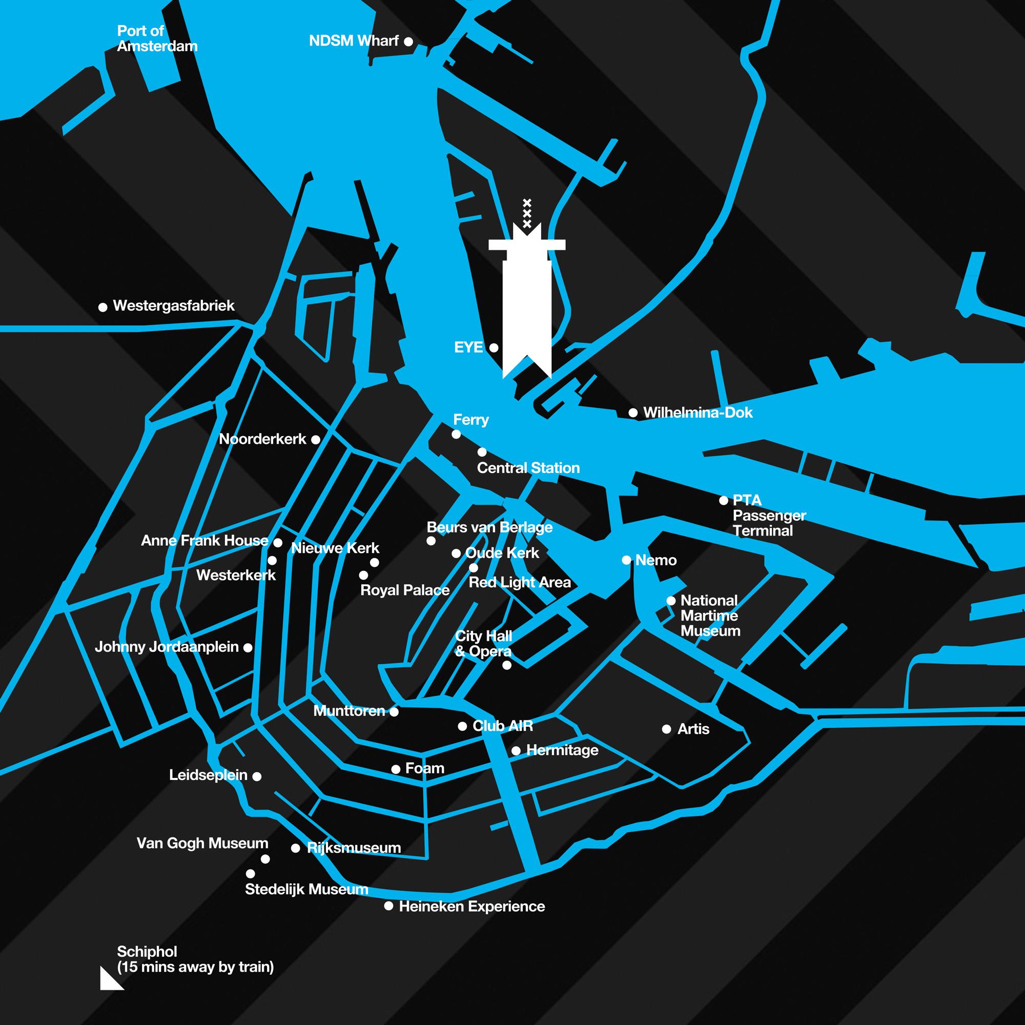 A'DAM Toren map